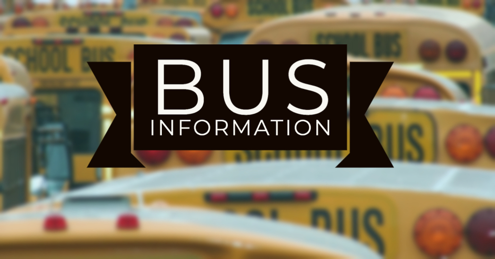 Bus information is available for MCHS students returning to school