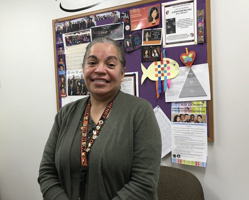 Staff Member of the Month: Ortega smoothes communication challenges for Spanish-speaking families