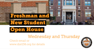 MCHS hosts events for current freshmen and new students