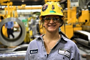 MCHS alum Madison Loewe sets example for success in manufacturing careers